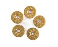 Cartucce per fucili a canna liscia Fotografie Stock