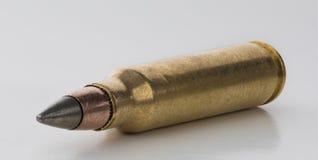Cartuccia di M855 EPR su un fondo bianco Immagini Stock Libere da Diritti