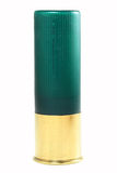 Cartuccia per fucili a canna liscia verde Immagini Stock