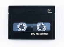 Cartucho de datos del DDS aislado en el fondo blanco Fotos de archivo