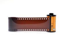 cartucho de la película de 35 milímetros Fotos de archivo libres de regalías