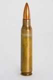 Cartucho de M-16 5.56m m Imagenes de archivo