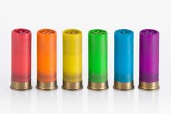 Cartucho del arco iris Foto de archivo libre de regalías
