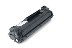 Cartucho para a impressora de laser fotografia de stock