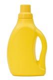 Cartucho plástico amarelo, isolado no fundo branco Imagem de Stock