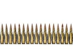 Cartucho um calibre de 7,62 milímetros. Imagem de Stock Royalty Free