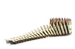 Cartucho um calibre de 7,62 milímetros. Foto de Stock