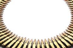Cartucho um calibre de 7,62 milímetros. Foto de Stock Royalty Free