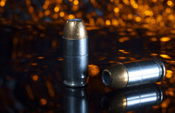 Cartuchos da pistola Fotos de Stock Royalty Free