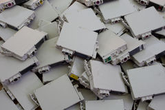 Cartuchos de impressora descartáveis Imagem de Stock