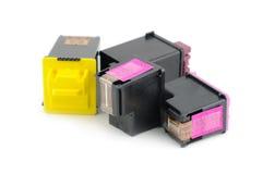 Cartuchos de impressora Inkjet imagem de stock