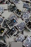 Cartuchos de impressora a jato de tinta Imagem de Stock