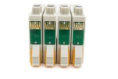 Cartuchos de tinta brandnew da impressora Fotografia de Stock