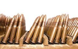 Cartuchos velhos do rifle Imagem de Stock