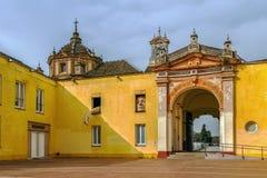Cartuja Charterhouse,塞维利亚,西班牙的修道院 库存图片