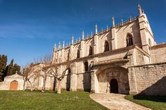 Cartuja de Miraflores μοναστήρι, Burgos, Καστίλλη Υ Leon, Ισπανία στοκ εικόνα