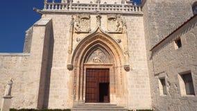 Cartuja de Miraflores kloster, Burgos, Castilla y Leon, Spanien lager videofilmer