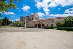 Cartuja de Miraflores, monastery in Burgos , Spain. stock photography