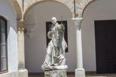 Cartuja monastery courtyard, Jerez de la Frontera, Cádiz Royalty Free Stock Photography