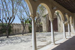 Cartuja monastery courtyard, Jerez de la Frontera Stock Photos