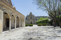 Cartuja monastery courtyard, Jerez de la Frontera Royalty Free Stock Photography