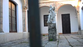 Cartuja monastery, Jerez de la Frontera stock footage