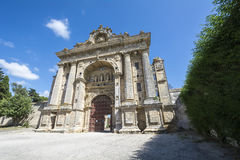 Cartuja Monastery, Jerez de la Frontera, Spain (Charterhouse).  royalty free stock photos