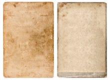 Cartulina de la foto del vintage Fondo de papel usado Grunge Foto de archivo libre de regalías