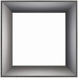 Cartulina lisa del marco de rectángulo Fotografía de archivo