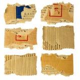 Cartulina rasgada Fotos de archivo libres de regalías