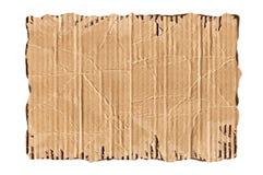 Cartulina rasgada Imagen de archivo