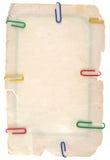 Cartulina sucia vieja Imágenes de archivo libres de regalías