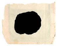 Cartulina sucia vieja Imagenes de archivo