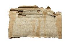 Cartulina usada. Imagen de archivo
