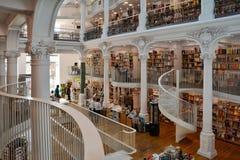 Carturesti Carusel księgarnia w Bucharest, Rumunia obrazy stock