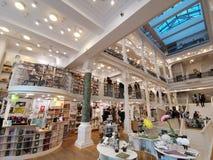 Carturesti księgarnia w Bucharest, Rumunia fotografia royalty free
