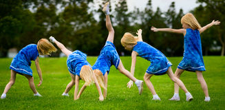 Cartwheel Royalty Free Stock Image