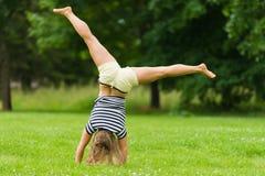 Cartwheel Royalty Free Stock Image