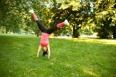 cartwheel obraz royalty free