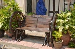 Cartwheel chair Stock Image