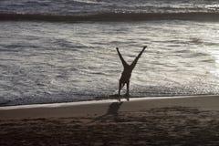 Cartwheels nella spuma Immagini Stock Libere da Diritti