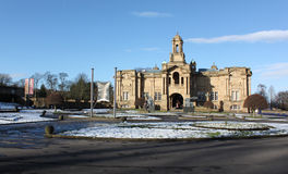 Cartwright Hall Art Gallery at Lister Park in Bradford, England Stock Photo