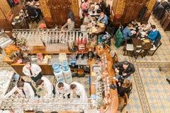 Caru cu Bere restauraci wnętrze Obrazy Royalty Free