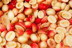 Carunda herbal fruit in brine Royalty Free Stock Photography