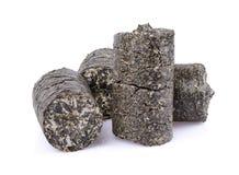 Carvão amassado de sementes de girassóis Imagem de Stock Royalty Free