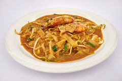 Carvão animal Kway Teow Fotos de Stock