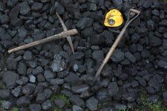 Carvão da mineração Fotografia de Stock Royalty Free