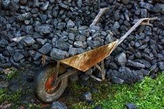 Carvão da mineração Fotos de Stock Royalty Free