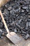 Carvão de Brown Imagem de Stock Royalty Free