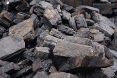 Carvão de Brown Imagens de Stock